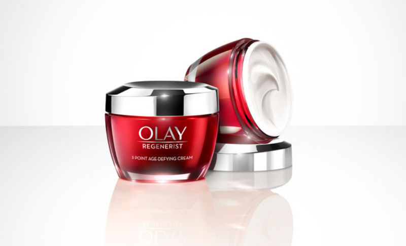 Olay Regenerist 3 Point Day Cream, 2 x 50ml