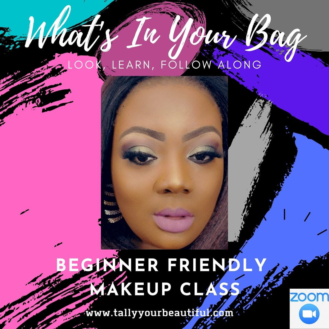 Virtual Makeup Classes- (2 hrs of Training)