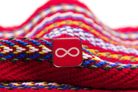 Infinity Lapel Pin (Red)