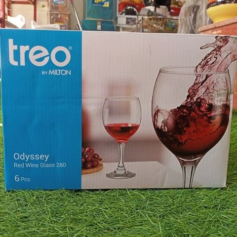 Treo Odyssey red wine glass 280ml set of 6