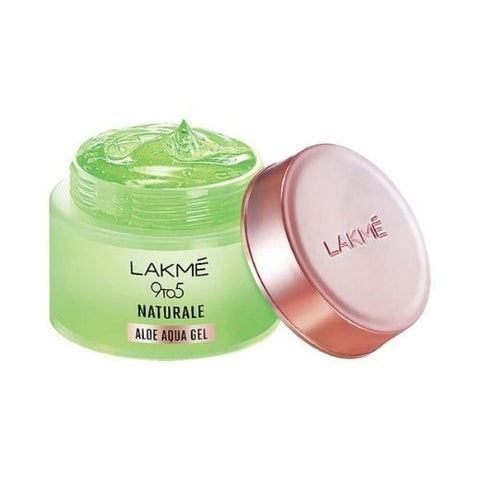 lakme 9 to 5 naturale aloe aqua gel with pure aloe vera 50g