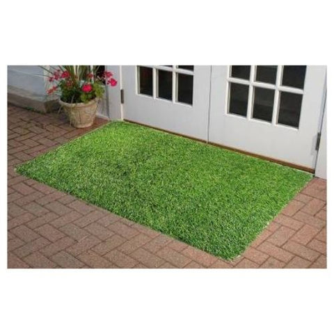Artificial Grass Mat, Floor Mat, Door mat Natural Green - Doormat