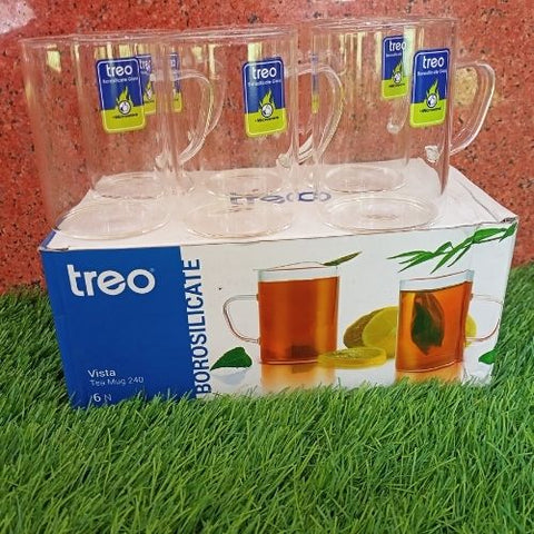 Treo Vista Tea Mug 240ml set of 6