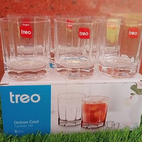 Treo Octron cool tumbler 184ml set of 6pcs
