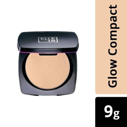 Elle 18 Lasting Glow Compact, Pearl, 9 g (Pack of 1)