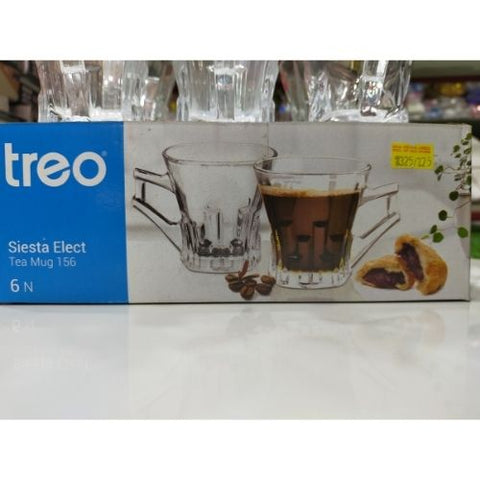 Treo siesta elect 156ml set of 6