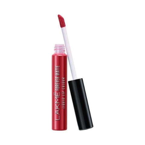 Lakme Forever Matte Liquid Lip Colour, Red Carpet, 5.6 ml