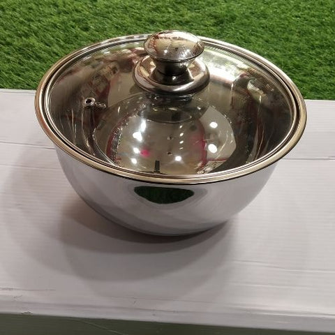 Serving Bowl with Glass LID