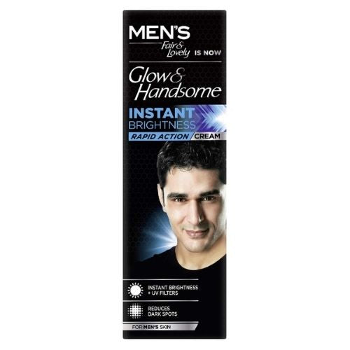 Fair & Lovely Glow & Handsome Instant Brightness Rapid Action cream 50g