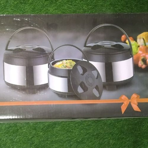 JLB Hot & cool Thermosteel 3pcs set cassrole (1500/2000/2500)