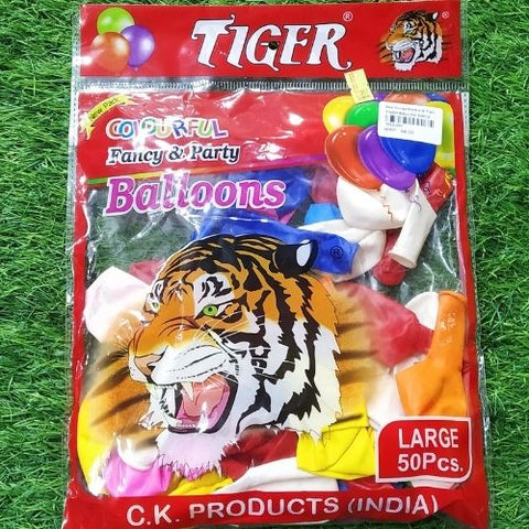 Tiger Balloon 50pcs large