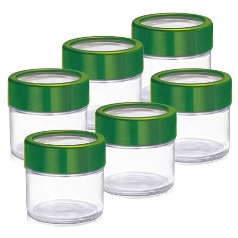 Treo Cube jar 100ml set of 6pcs
