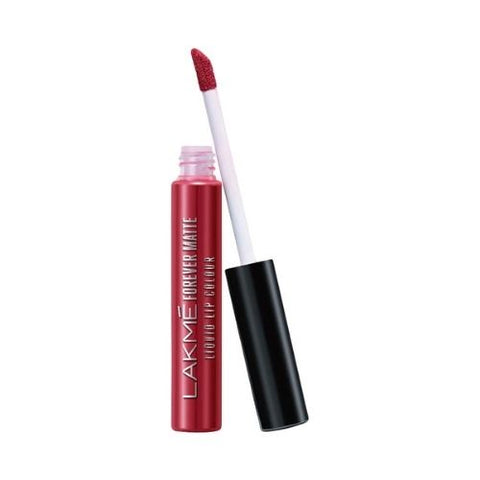Lakme Forever Matte Liquid Lip Colour, Red Velvet, 5.6 ml