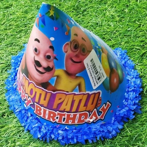 Happy Birthday Cartoon Printed Cap 1pcs