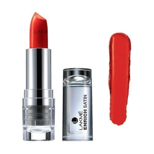 Lakme Enrich Satins Lip Color, Shade R359, 4.3 g
