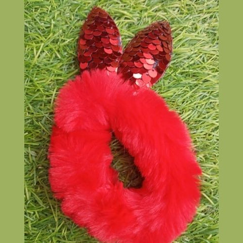 Hair Band Mouse Red
