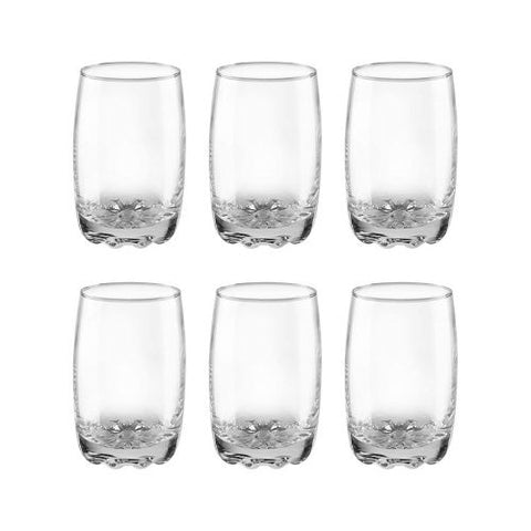 Treo by Milton Lyon Glass Set of 6, 265 ml
