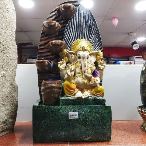 Lord Ganesha Fountain with LED light