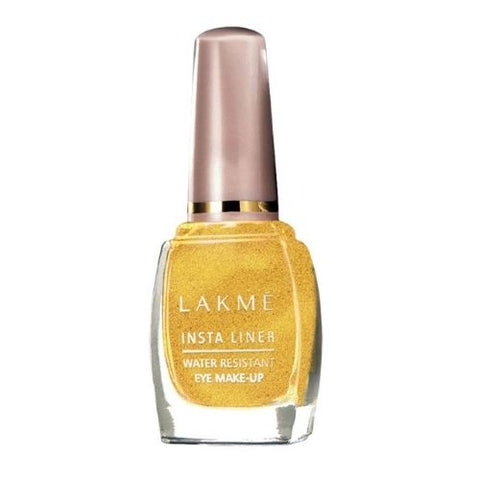 Lakmé Insta Eye Liner, Golden, 9 ml