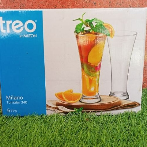 Treo milano Tumbler 340ml set of 6 pcs