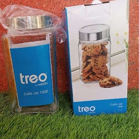 Treo Cube Jar 1000ml 1unit