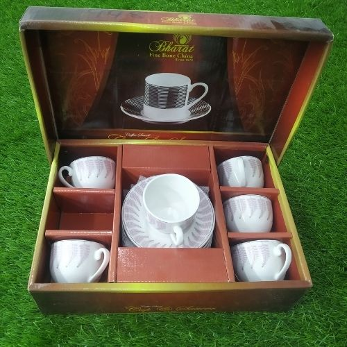 Coffee Small Cup & Saucer 6+6 pcs Set
