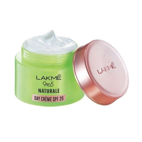Lakmé 9 To 5 Naturale Day Crème Spf 20, Wit Pure Aloe Vera, 50 g