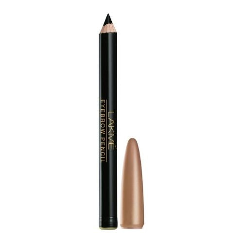 Lakme Eyebrow Pencil, Black, 1.2g