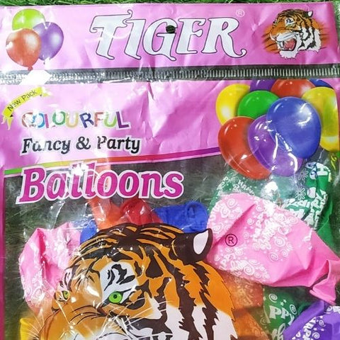 Tiger Balloon 25pcs- Full print