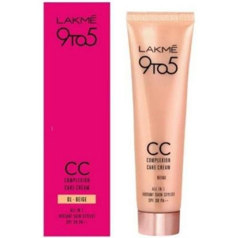 Lakme 9 to 5 Complexion Care Face Cream - Beige Foundation  (Beige, 30 g)