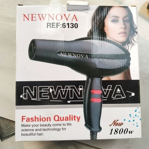 NEW Nova Hair Dryer with 2 Speed Control and Cold and Warm Wind 1800 watts (MULTI_COLOR)