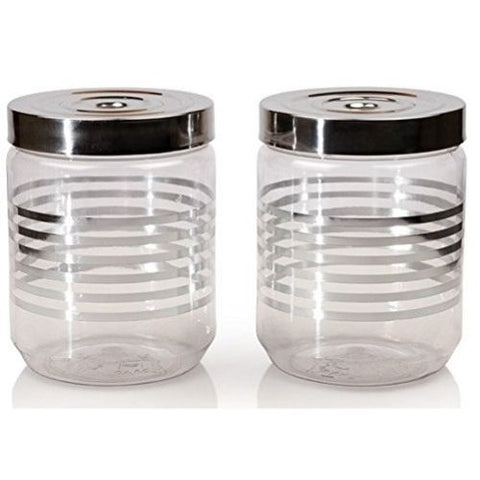 Jaypee Keeptight Jar 900ml each set of 2pcs