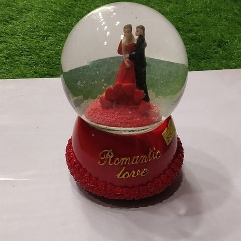 Romantic Love (snow Ball)-gift Items