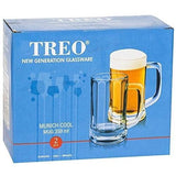 Treo Munich cool 359 beer mug set of 2