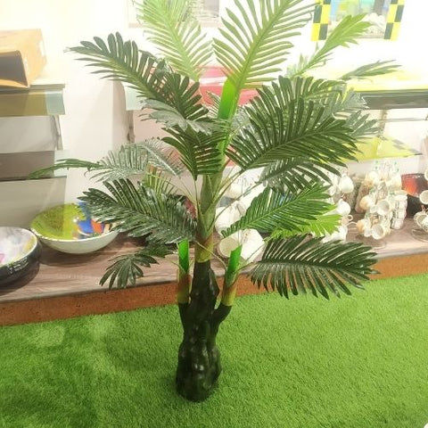 Natural Palm Tree Green Artificial Plant