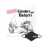 Signed Gnomes and Badgers Double Vinyl + Logo Mask Bundle