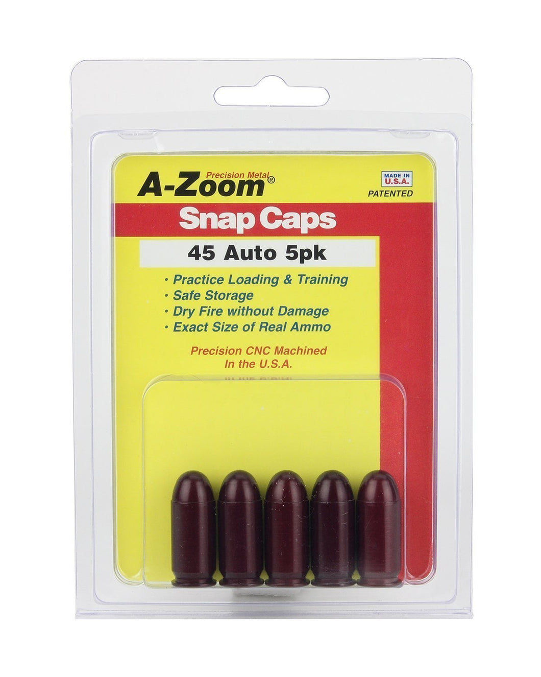 A-Zoom Snap Caps 45 Auto - MantisX.de