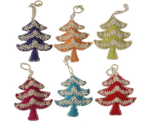 Tree Ornament- set of 6