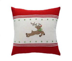 "Reindeer 14"" Pillow"