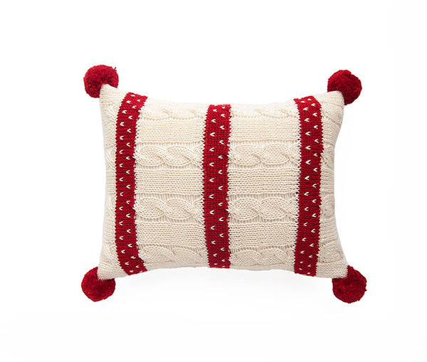 Cable Knit Mini Pillow