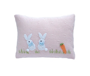 Baby Bunny Mini Pillow, Pink