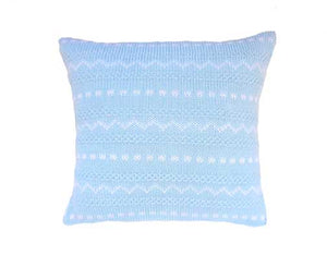 "Noel Baby 10"" Pillow, Blue"