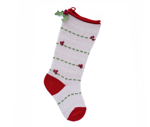 Holly Stocking