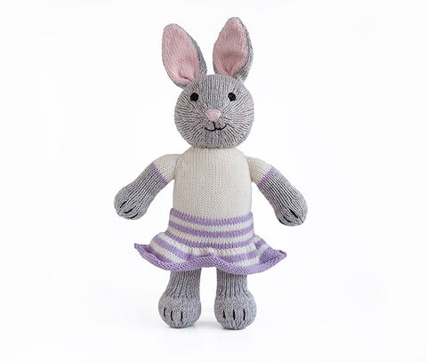 Grey Bunny with Skirt