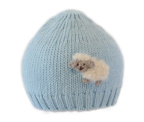 Lamb Hat, Blue