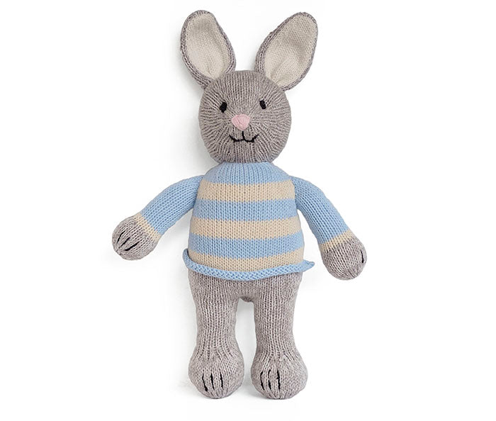 Grey Bunny in Sweater