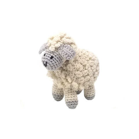 Little Crochet Lamb, Ecru