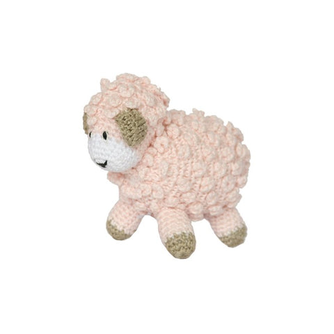 Little Crochet Lamb, Pink