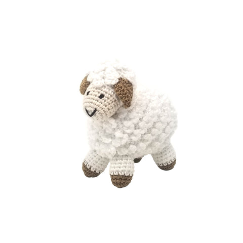 Little Crochet Lamb, White