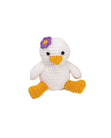 Crochet Duckling - Girl